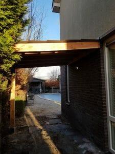 Houten Overkapping - Tuinoverkapping - Veranda - Carport maatwerk