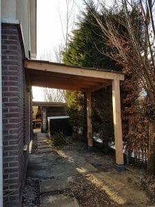 Houten Overkapping op maat - Tuinoverkapping - Maatwerk houtbouw