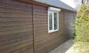 Schuur - tuinhuis beitsen - onderhoud - klusbedrijf - klusjesman - Schilderen - Beitsen - schilderwerkzaamheden