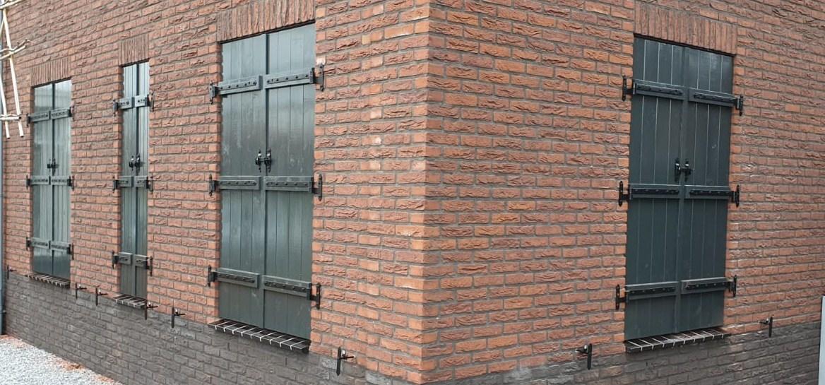 Maatwerk raamluiken - Luiken